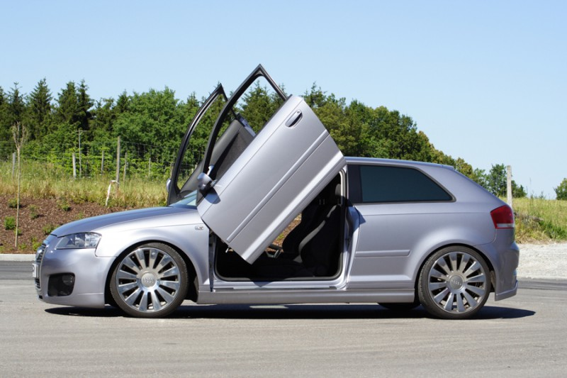 LSD (lamborghini style doors) Door Hinges for Audi A3 S3 8P 3dr & LSD (lamborghini style doors) Door Hinges for Audi A3 S3 8P 3dr ... pezcame.com