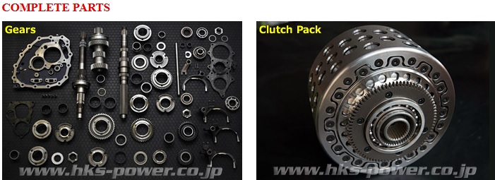 Hks Transmission Gear Kit And Clutch Pack Nissan Gtr R35